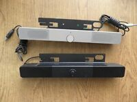 Speaker Bar for HP monitor ( black only )