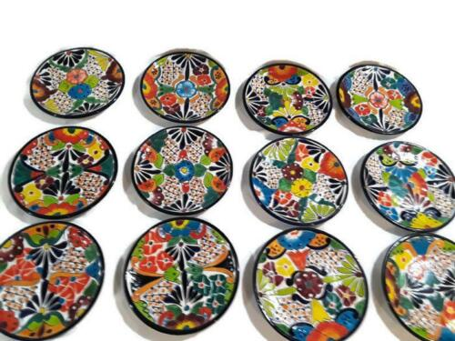 26 Piece Talavera Dinnerware Set Seat 6 Vibrant Dishes with Floral leadfree