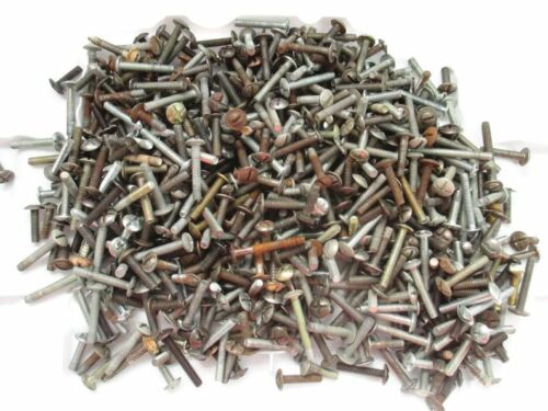 3 pounds of vintage machine screws for furniture drawer pulls knobs handles 8-32