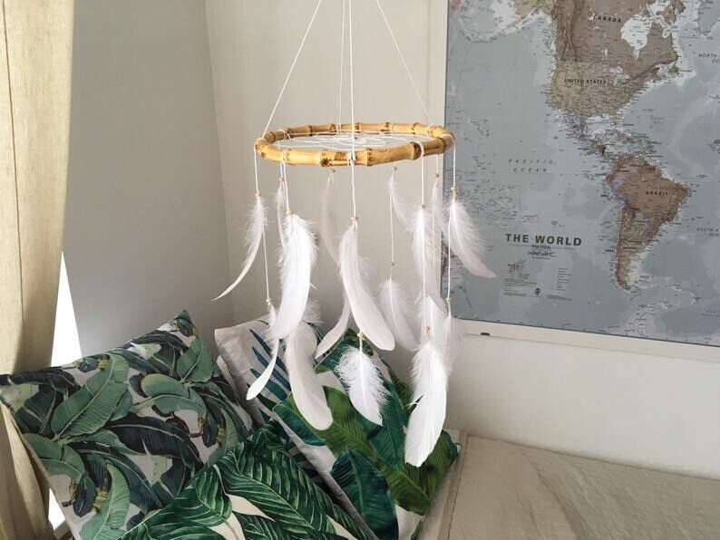 Baby Mobile Dreamcatcher White Nursery Decor In Newham London Gumtree