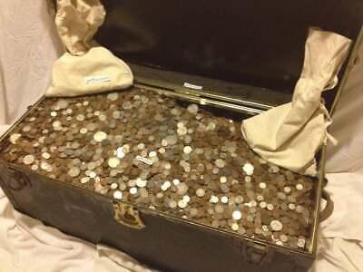 Best  ✯ESTATE SALE LOT OLD US COINS HOARD ✯ GOLD SILVER BULLION ✯ QUARTER POUND LB ✯