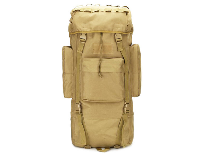 8L/10L/30L/55L/80L Outdoor Military Tactical Camping Hiking Trekking Backpack  80L Khaki