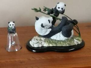 Pride and Joy Panda Figurine Franklin Mint Varsity Lakes Gold Coast South Preview