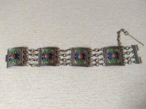 Antique Silver Berber Kabyle Bracelet from Algeria