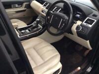 2011 Land Rover Range Rover Sport 3.0 TD V6 HSE 5dr Diesel black Automatic