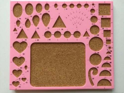 Quilling Template Board Papercraft Tool Scrapbooking Paper Craft Stencil Design