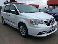 2014 Chrysler Grand Voyager 2.8 CRD Limited 5dr Diesel white Automatic