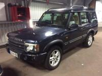2004 Land Rover Discovery 2.5 TD5 Landmark 5dr (7 Seats) Diesel blue Automatic