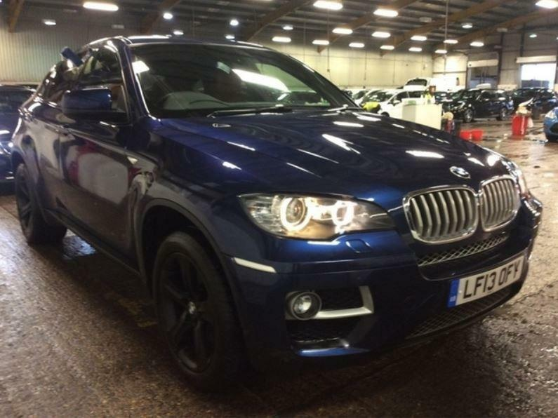 2013 Bmw X6 3 0 40d Auto Xdrive 5dr Diesel Blue Automatic In