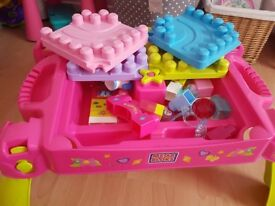 Mega Bloks Little Princess Fairy Table