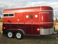 Location remorque pour chevaux... $250/fds ou $150/j