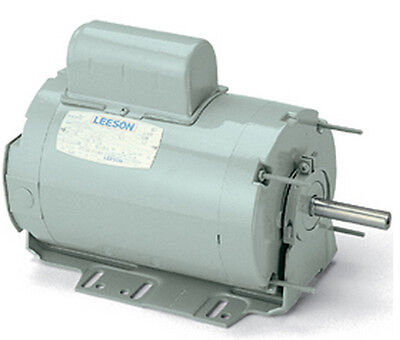 Leeson Electric Motor 111332.00 56z Frame 34 Hp 3450 Rpm 1-ph 115208-230 Volt