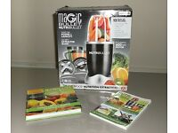MAGICBULLET NUTRIBULLET BNIB 12 PIECE SET WITH TWO BOOKS