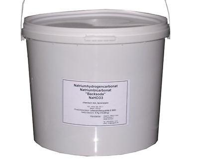 Natriumhydrogencarbonat Natriumbicarbonat Backsoda 5 Kg Lebensmittelquali E500