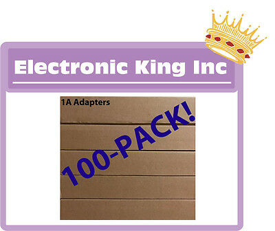 Lot 100 X Wall Charger AC Power Adapter Excellent QUALITY For iPhone 4 s 5 s 6 7