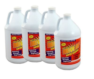Drive-Up Super Cleaner Concentrated Degreaser - cs 4 x 128 oz bottles
