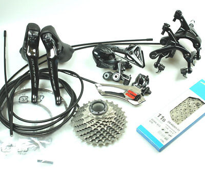 Shimano Dura Ace Group R9100 9100 11s Groupset Kit Group Set - 6pc