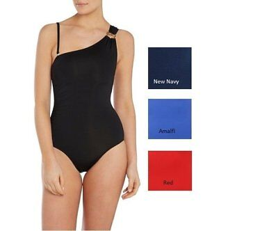 One Shoulder Maillot - NEW Michael Kors One Shoulder Maillot Ruched One-Piece Swimsuit Choose Color/Sz