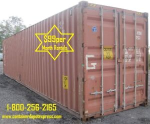 Steel Storage Containers Available