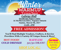 Winter Warm Up Vendor Show!