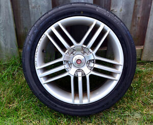 Fittipaldi Avus 17 Inch Wheels Rims with Tires 5x100 Golf Jetta