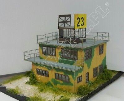 WW2 RAF Airfield Control Tower 1:144 scale Model Kit (LASERCUT PARTS) PREPAINTED for sale  United Kingdom