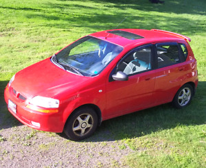 2005 Pontiac Wave Hatchback