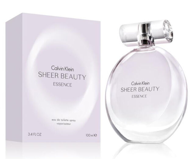 Calvin Klein Sheer Beauty Essence 100ml EDT Spray New Retail Boxed Sealed