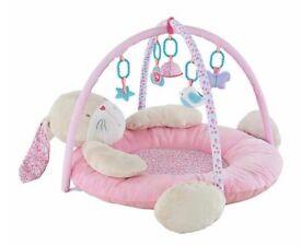 Pink Bunny Play Mat