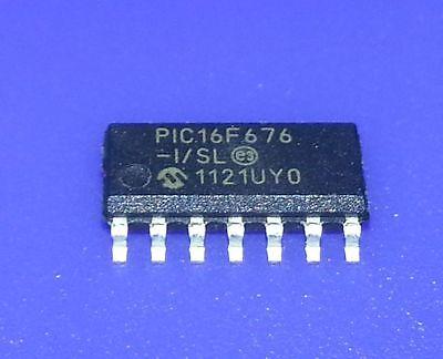 2pcs PIC16F883-I//SO Microcontroller SMD 8-bit SOIC28 New Good Quality