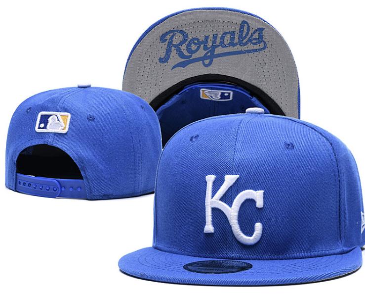 Kansas City Royals MLB Baseball Embroidered Hat Snapback Adj
