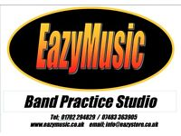 EAZYMUSIC New! Band Rehearsal Studio for hire, PROMOTIONAL OFFER! 50% Discount on all new bookings