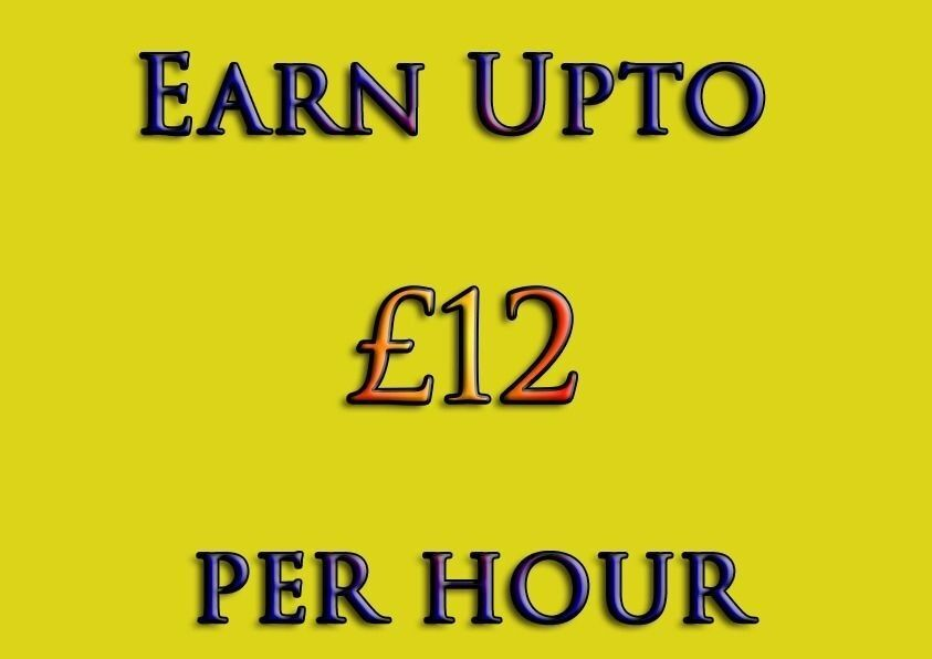 Earn £12+ Hour In Your Spare Time - Work From Home, Immediate Start, No experience & Cash In Hand