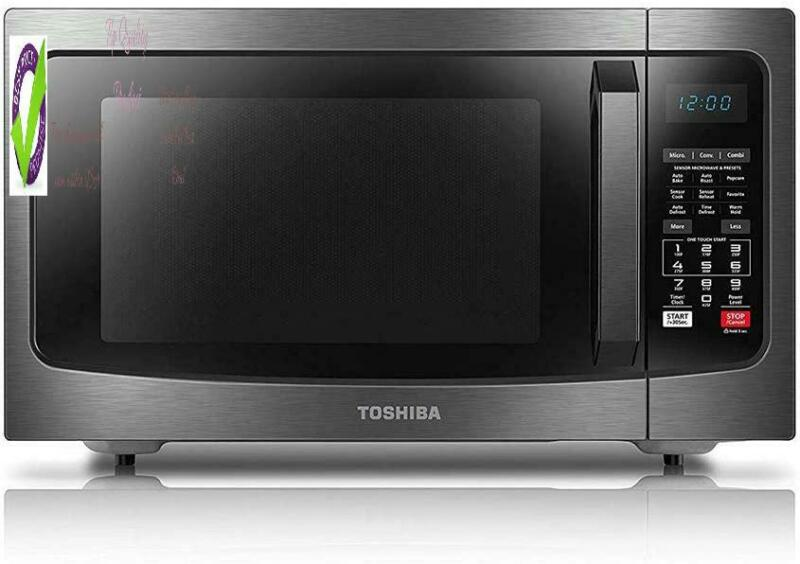 Toshiba Ec042A5C-Bs Countertop Microwave Oven With Convectio