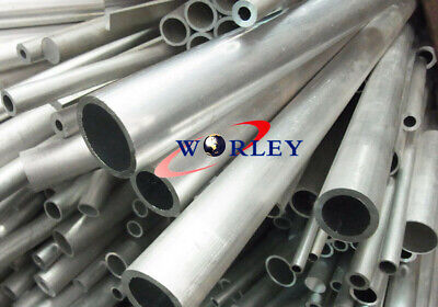 1.5 Od X 1.34 Id X12 X 0.0787 Wall 6061 Aluminum Tube Pipe Round 38x34x300mm