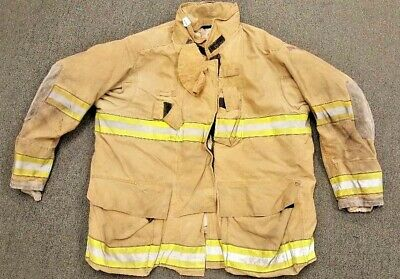 56x35 Globe Firefighter Brown Turnout Jacket Gxtreme J758
