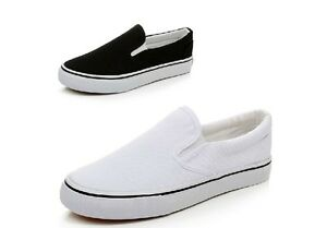 Men-Women-Canvas-Flat-Slip-On-Casual-Shoes-Sneaker-DIY-Hand-Painted-Shoes