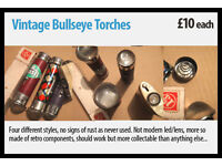 Vintage Bullseye Torches
