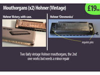 Mouthorgans Hohner x2 £19 each