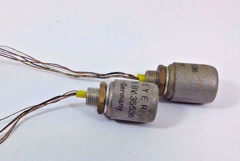 2 Pcs BEYER Dynamic TR 45 BV.35536 Ratio 1.5 Input Microphone Transformer