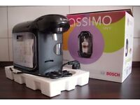 TASSIMO VIVY Coffee machine and variety of coffee pods to go with it