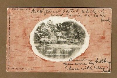 Green Bay,WI Wisconsin, Daem's Farm on Shore of Green Bay, used (Bayshore Wi)
