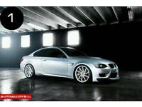 "SET OF 4 X NEW BMW 20"" ALLOY WHEELS 5X120 M3 M4 M5 M6 6 7 8 SERIES"