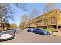 Split level two DOUBLE bedroom flat with its own entrance in St Johns Wood.