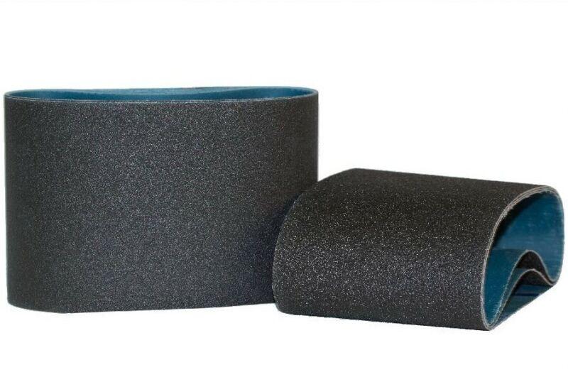 """7-7/8"""" x 29-1/2"""" Premium Floor Sanding Belts Silicon Carbide 80 Grit (10 Belts)"""