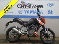 2012 62 KTM DUKE ***PREVIOUSLY CAT C*** ***PERFORMANCE EXHAUST***