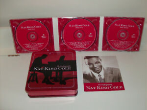 Nat King Cole Unforgettable - Collector's - 3 CD's  Never Played