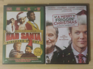 Christmas DVDs $5