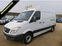 2009 09 MERCEDES-BENZ SPRINTER 2.1 311 CDI MWB HIGH ROOF FRIDGE / CHILLER OVERNI