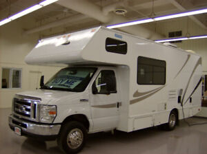 2014 Class C Motorhomes for Sale with Free Warranty!!!